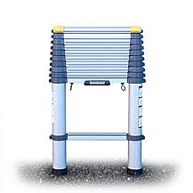image of Youngman 301133 Telescopic Ladder Aluminium 3.3 Metres / 10.8 Feet