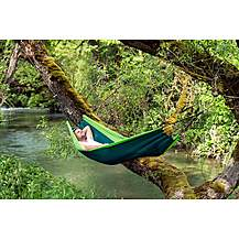 image of Amazonas Silk Traveller Hammock -Forest Green