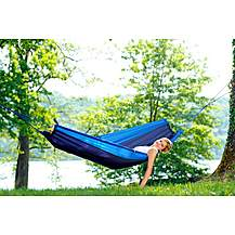 image of Amazonas Silk Traveller Hammock - Ocean Blue