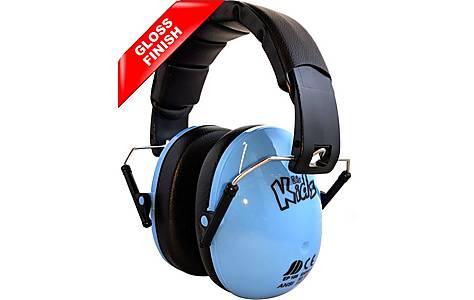 image of Edz Kidz Ear Defenders Blue Gloss