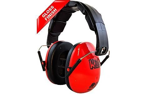 image of Edz Kidz Ear Defenders Red Gloss
