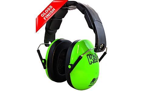 image of Edz Kidz Ear Defenders Green Gloss