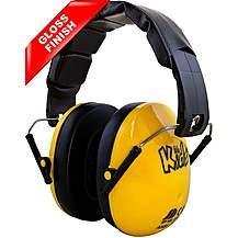 image of Edz Kidz Ear Defenders Yellow Gloss