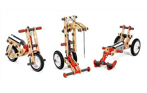 image of Moov 3 in 1 Starter Kit - Bike, Crane & Snow Scooter