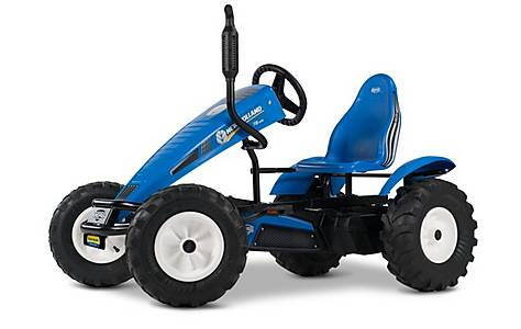 image of New Holland Bfr-3 Gear Tractor Pedal Go Kart Blue