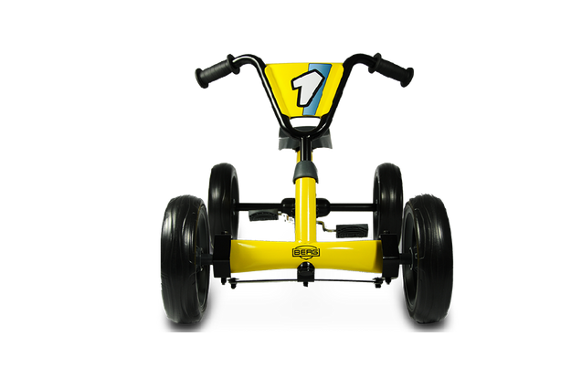 image of pedal go kart berg buzzy yellow