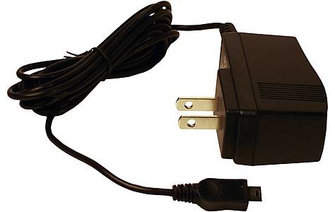 image of Garmin -  Euro Ac Charger (for 205, 301, 305, 310xt, 205, 305hr, 305cad, 605, 705hr)
