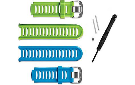 image of Garmin - Forerunner 910xt Accessory Bands Blue And Green