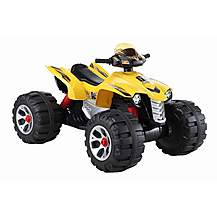 image of Big Ride On Electric Raptor Quad Bike 12v