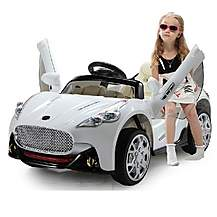 image of Maserati Electric Ride On 6v Car With Parental Remote