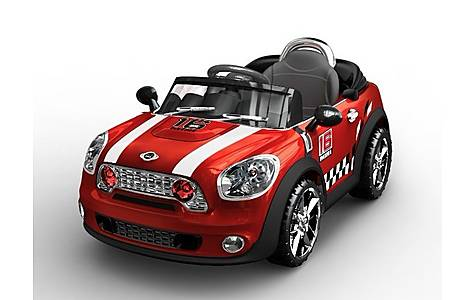image of Mini Cooper Style Electric Ride On Car 6v