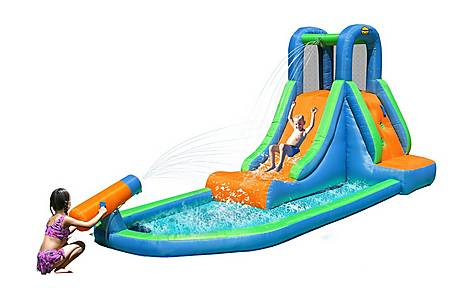 image of Inflatable Waterslide With Pool And Water Cannon 9140