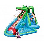 image of Crocodile Creek 11.5ft Inflatable Waterslide