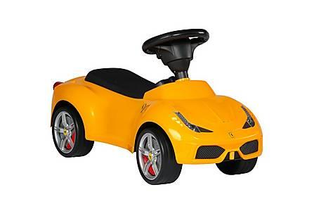 image of Ferrari 458 Push Ride On Car W/leather Seat