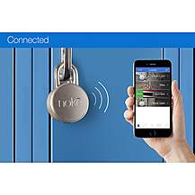 image of Noke Bluetooth Padlock for Smartphone - Silver