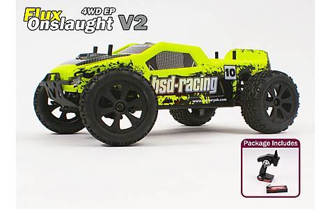 image of Flux Onslaught V2 Truck 4wd 1/10TH 7.4v Li-Po
