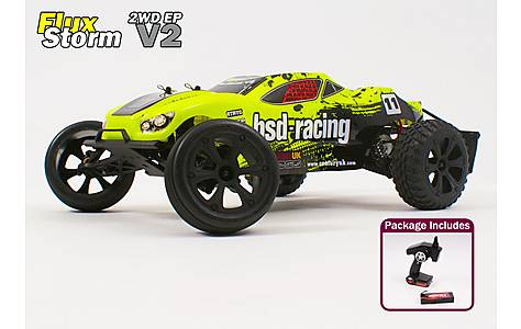 image of Flux Storm V2 1/10th Truggy RTR 7.4v Li-Po