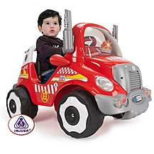 image of Injusa Fire Truck Electric Ride On - 6V