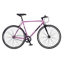 image of Redemption FX Fixie Road Fixed Gear Bike 700c Wheel Pink Black