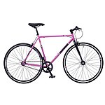 image of Redemption Fx Fixie Road Fixed Gear Bike 56cm 700c Wheel Pink Black