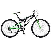 image of Saxon Drift 26inch Wheel Dual Suspension Gents MTB Mountain Bike 14inch Frame