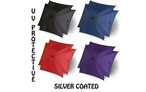 image of Universal Sun Baby Parasol/umbrella/canopy For Pram/travel System - 4 Colours