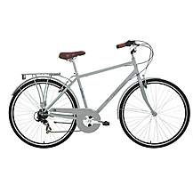 image of Kingston Hampton, Mens Traditional City Bike, Grey