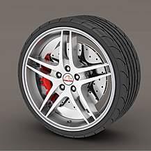 image of Alloy Wheel Rim Protectors Silver/Grey