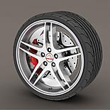 Alloy Wheel Rim Protectors Silver/Grey