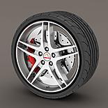Alloy Wheel Rim Protectors Black