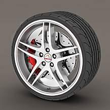 image of Alloy Wheel Rim Protectors White