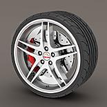 Alloy Wheel Rim Protectors White