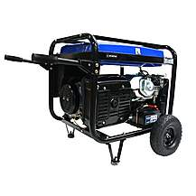 image of Hyundai 5.5kW Electric Start Petrol Generator HY7000LEk