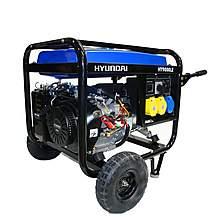 image of Hyundai 6.6kW Electric Start Petrol Generator HY9000LEk