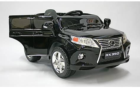 image of Kids Electric Car Lexus RX350 12 Volt Black Gloss
