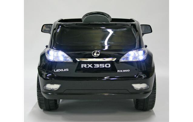 kids electric car lexus rx350 12 volt black gloss