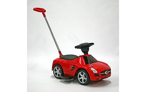 image of Kids Car Foot To Floor Mercedes Benz SLS Red