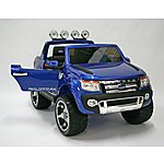 image of Kids Electric Car Ford Ranger 12 Volt Blue Gloss