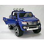 image of Kids Electric Car Ford Ranger 12 Volt Blue Gloss