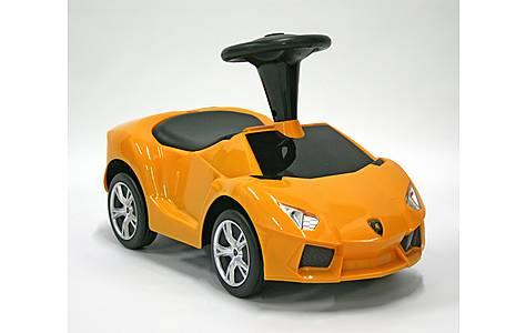 image of Kids Car Foot To Floor Lamborghini Aventador Yellow