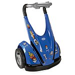 image of Feber Dareway 12v Ride On Balance Scooter - Blue