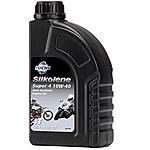 image of Silkolene Super 4 10W40 Semi Synthetic 4 Stroke Motorbike Oil - 1 Litre