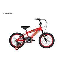 image of Bumper Burnout Pavement Kids Bike Bumper Red
