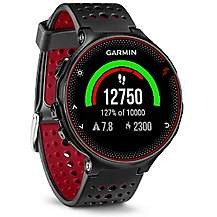 image of Garmin Forerunner 235 With Wrist Based Hrm Black And Red