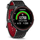 Garmin Forerunner 235 With Wrist Based Hrm Black And Red