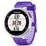 Garmin - Forerunner 230 With Premium Soft-strap Hrm Purple And White