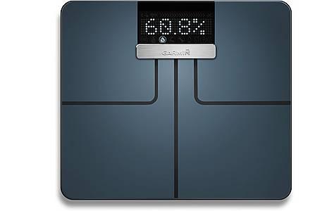 image of Garmin - Index Smart Biometric Weighing Scale - Black