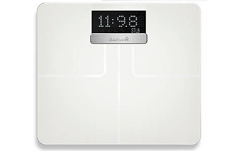 image of Garmin - Index Smart Biometric Weighing Scale - White