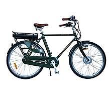 image of Francis-Barnett Electric Bike 56cm Frame Cross Bar