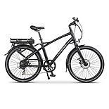 Wisper 905se Cross Bar Stealth Electric Bike